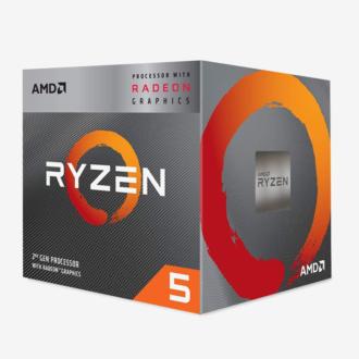 AMD RYZEN 5-3400G PROCESSOR