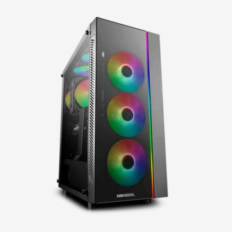 DEEPCOOL MATREXX 55 RGB 4FAN BLACK CASE