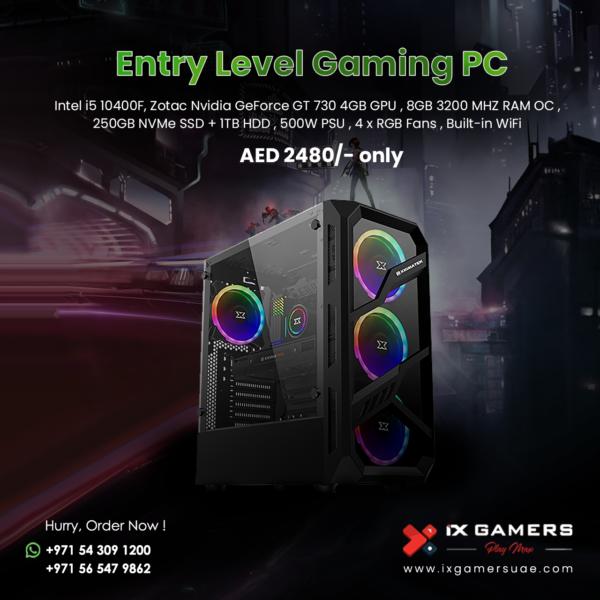 Beginer Gaming PC AED 2480