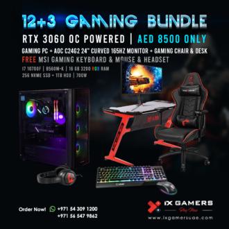 Gaming PC 12+1 Bundle offer